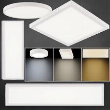 LED Panel Aufputz Deckenleuchte Deckenlampe Aufbau Wohnzimmerlampe Panellampe