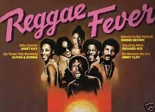 REGGAE FEVER disco LP 33 g ITALY Jimmy Cliff DENNIS BROWN Richard Ace JANET KAY