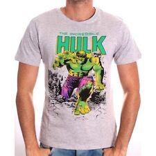 AWESOME MARVEL COMICS THE INCREDIBLE HULK GREY T-SHIRT  *BRAND NEW*