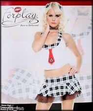 School Girl 'Honor Roll' Dance/Costume Lingerie XS/S, S/M, M/L