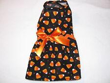 Halloween Candy Corn Dress Dog Puppy Teacup Pet Clothes XXXS - Large