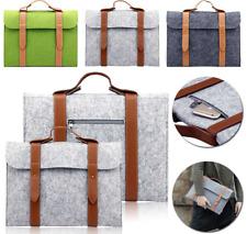 Case Sleeve Bag Cover Wool Felt Notebook Laptop Apple MacBook Air Pro 10 13 15