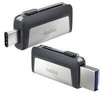 SanDisk 16GB 32GB 64GB OTG DUAL USB 3.1 3.0 TYPE-C Stick paket Speicherstick DE