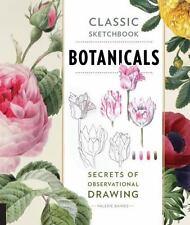 BOTANICALS CLASSIC SKETCHBOOK - BAINES, VALERIE - NEW PAPERBACK BOOK