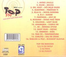 NON STOP PARTY BEAT 1998 1999 CD Top FM Colonia Duck Ella B Dance Disco Balkan