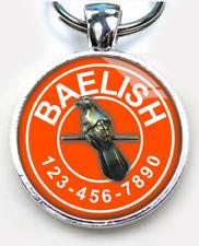 Game of Thrones Little Finger baelish movie ID tag Orange custom pet tag dog cat