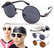 John Lennon Round Hippie Retro Vintage Classic 60's sunglasses shades circle Men