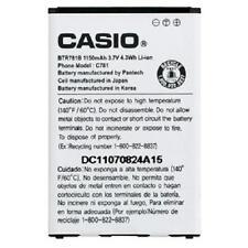 Original Oem Casio Hitachi G'Zone Gzone Ravine 2 C781 Btr781 Btr781B Battery Lot