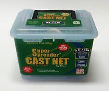"Fitec 12390 RS-750L Super Spreader Cast Net 9'x3/8"" Mesh,, Clear Mono"