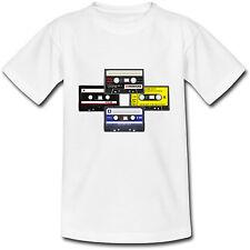 T-shirt Adulte Cassettes Audio Vintage K7 - du S au 2XL