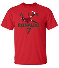 "RED Cristiano Ronaldo Real Madrid ""Air Ronaldo PIC"" T-Shirt"