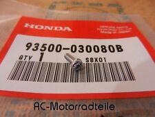 Honda CB 450 K0 K1 Schraube Tankemblem Neu screw emblem fuel tank 93500-030080B