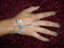 baciamano gioiello bagno argento antico libellula bacia mano made in italy
