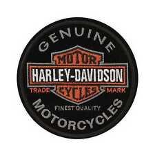 HARLEY DAVIDSON Parche Modelo Genuine bar&shield Largo Tamaño 10cm Diámetro