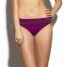 Panache SW0606 Swimwear Taylor Bikini Pant Damson / Slate