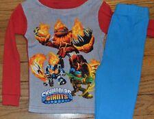 Skylanders Giants Loungewear 2 Piece Set Snug Fitting Size 4