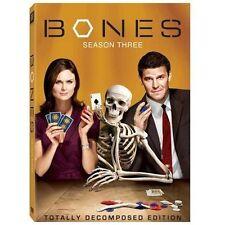 Bones Season 1, 2, 3 DVD Lot All three seasons!!! Excellent condition! complete