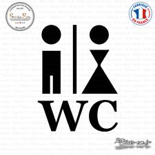 Sticker Homme et femme - WC Decal Aufkleber Pegatinas D-397 Couleurs au choix