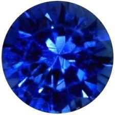 Natural Extra Fine Vibrant Kashmir Blue Sapphire - Round Diamond Cut - Sri Lanka