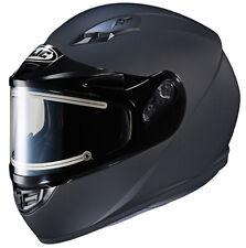 HJC CS-R3 Electric Snowmobile Helmet with Balaclava Matte Black SM MD LG XL 2X