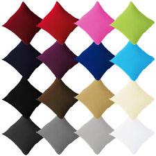 2er Pack Jersey Kissenbezug Kissenhülle Kopfkissenbezug 100% Baumwolle Neu