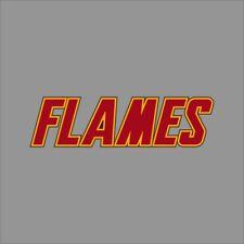 Calgary Flames #3 NHL Team Logo Vinyl Decal Sticker Car Window Wall Cornhole