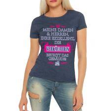 Frauen T-Shirt Ihre Exzellenz VERKÄUFERIN Shop Boutique Geschenk Größe XS - 5XL