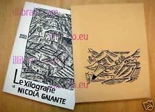GUASCO - Le xilografie di Nicola Galante - Fogola 1974