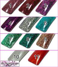 Glitter UV Gel Hoch deckende funkelnde Farben Nageldesign Nagelgel Nailart