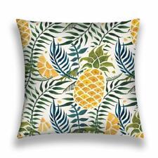 Pineapple Kissenbezug Kissenhülle Outdoor Indoor ananas hawaii sommer urlaub eis