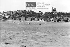 Early 1900s Photo Reprint, Swampscott's Blaney Beach