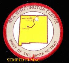 NATIONAL RIFLE ASSOC. PATCH WHITTINGTON CENTER NEVADA NRA 2ND AMENDMENT SANTA FE