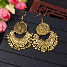 Women Boho Vintage Indian Gypsy Tassel Drop Dangle Earrings Wedding Jewelry