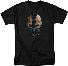 Batman The Dark Knight Rises Adult T-Shirt - Painted Bane -DC Comics Superheros