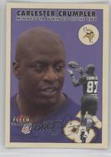 2000 Fleer Tradition Glossy #277 Carlester Crumpler Minnesota Vikings Card
