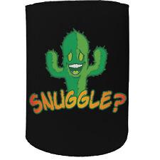 Stubby Holder - Snuggle Cactus - Funny Novelty Birthday Gift Joke Beer Can