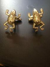 Frog Pair of Cufflinks, Tie Slide or Set weddings birthday occasion men ch67