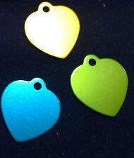 Piastrine forma cuore vari colori