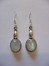 Anaya Moonstone .925 Silver Gemstone Earrings India