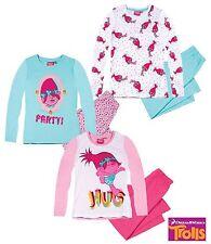 Pyjama Set Nightclothes Girl Trolls Turquoise Pink White 104 116 128 140 152 #24