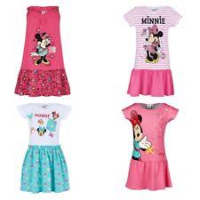 53e426e4a8f55d Kinder Kleidchen Tunika Mädchen Minnie Maus Mouse Kleid weiss pink 92 - 128  #97