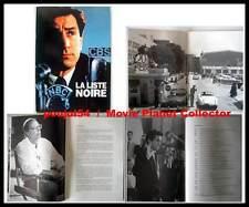 LA LISTE NOIRE - De Niro,Bening,Winkler - DOSSIER DE PRESSE / FRENCH PRESSBOOK