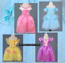 Principesse Vestiti Carnevale Maschere Aurora Bella Girl Dress up PCS001S-4S
