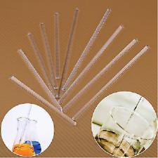 5X Glasrührstäbe Labor Klar Glas Rührstab Glass Stirring Rod Glasstab # 6mm