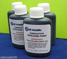 Escudo de blindaje pintura CONDUCTIVE Grafito reduce el zumbido de guitarra y Buzz