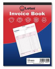 Premier Invoice Duplicate Book 100 leaves 4x5inch