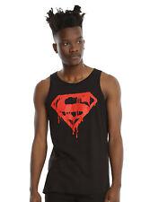 DC Comics Superman Drip Logo Tank Top
