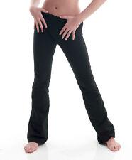 Filles Enfants coton noir Danse Pantalons Jazz Pantalon Katz Dancewear kjpc-2