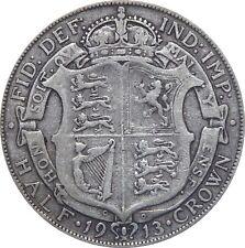 1911 a 1919 Giorgio V argento HALF CROWN SCELTA DELL'ANNO/Data