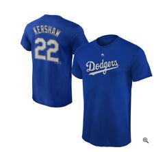 MLB Los Angeles Dodgers Men's Kershaw #22  Name & Number T-Shirt - Royal Blue